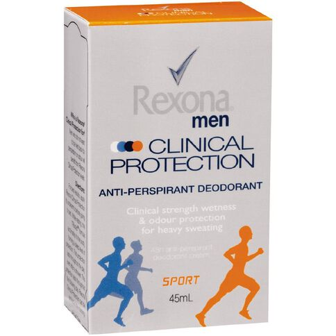Rexona For Men Clinical Protection Anti-Perspirant Deodorant Sport 45ml