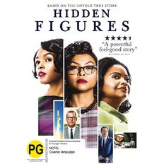 Hidden Figures DVD 1Disc