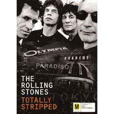 The Rolling Stones Totally Stripped DVD 1Disc