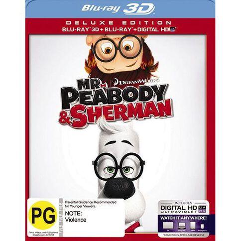 Mr Peabody & Sherman 3D Blu-ray 3Disc