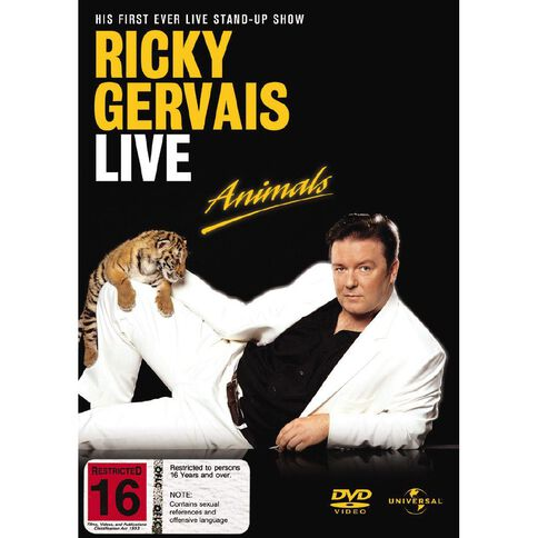 Animals Ricky Gervais DVD 1Disc