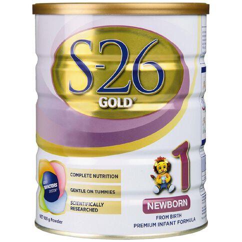 S26 Gold 1 Newborn 900g From Birth