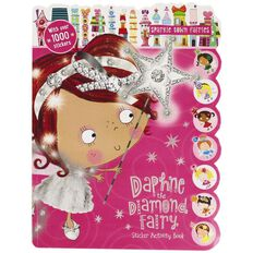 Daphne the Diamond Fairy Sticker Activity