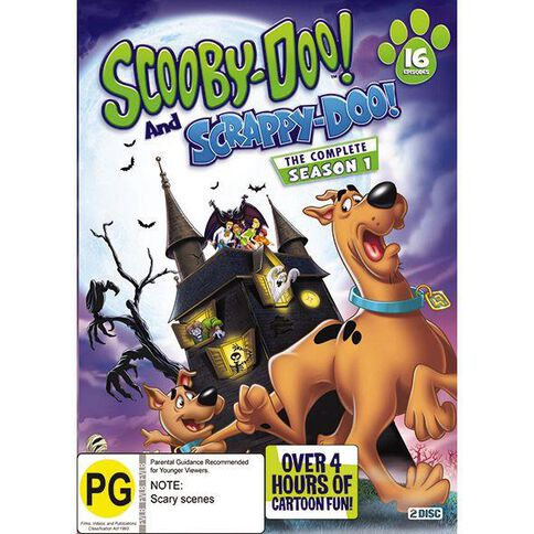 Scooby Doo and Scrappy Doo DVD 2Disc