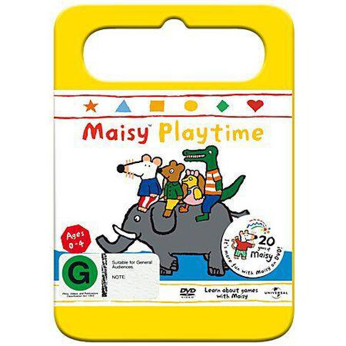 Maisy Playtime Vol 7 Yellow Handle Packaging DVD 1Disc