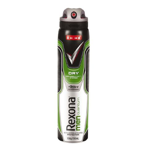 Rexona For Men Antiperspirant Deodorant Quantum 250ml