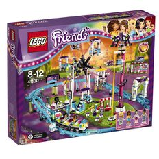 LEGO Friends Amusement Park Roller Coaster 41130