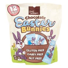 Sweet William Easter Bunny 155g 12 Pack