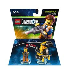 LEGO Dimensions Fun Pack LEGO Movie Video Game Emmet