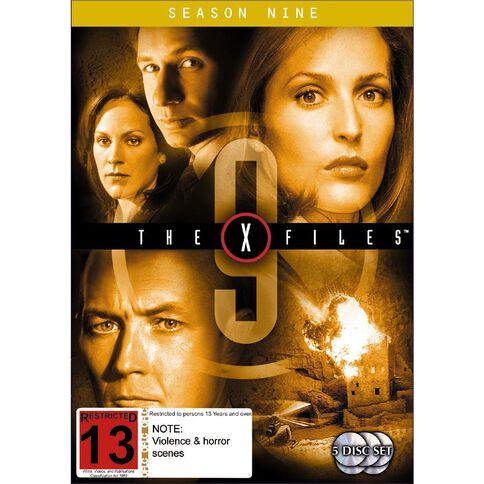 X Files Season 9 DVD 6Disc