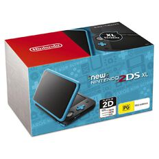 2DS Console XL New Black Turquoise