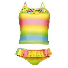 Beach Works Girls' Rainbow Tankini