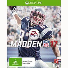 XboxOne Madden NFL 17