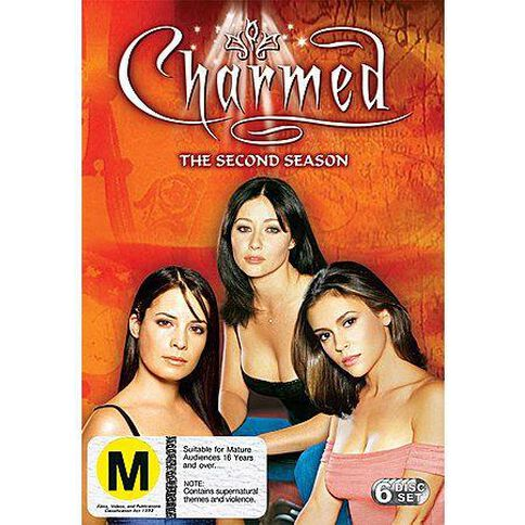 Charmed Season 2 DVD 6Disc