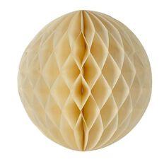 Party Inc Honeycomb Lantern Yellow