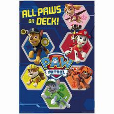 Paw Patrol Poster All Paws On Deck