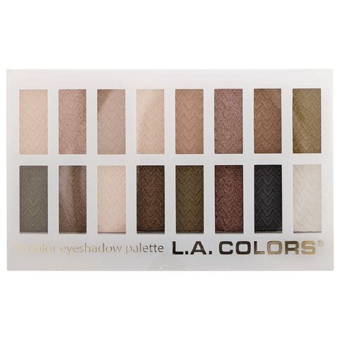 La Colors 16 Colour Eyeshadow Palette Sweet