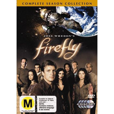 Firefly Season 1 DVD 4Disc