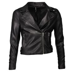 Garage PU Biker Jacket