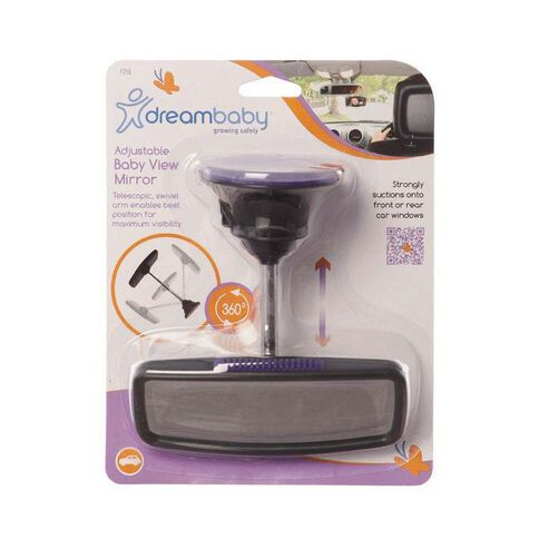 Dreambaby Safety Deluxe Adjustable Baby View Mirror