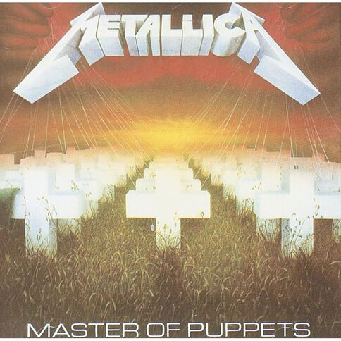 Master of Puppets CD by Metallica 1Disc
