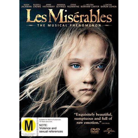 Les Miserables DVD 1Disc