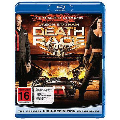 Death Race Blu-ray 1Disc