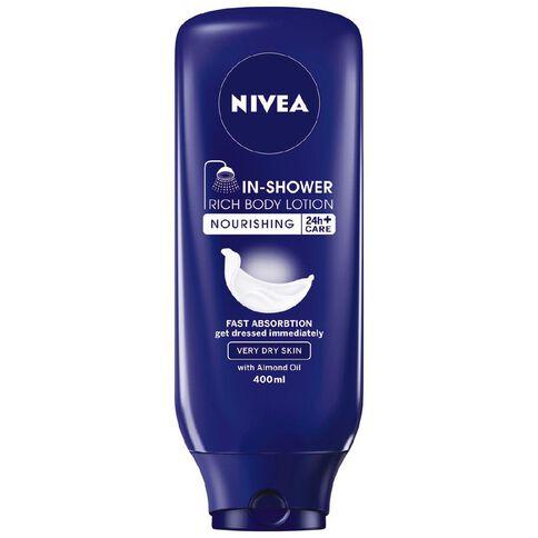 Nivea In-Shower Rich Skin Conditioner Dry 400ml