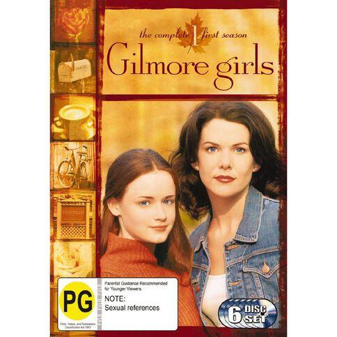 Gilmore Girls Season 1 DVD 6Disc