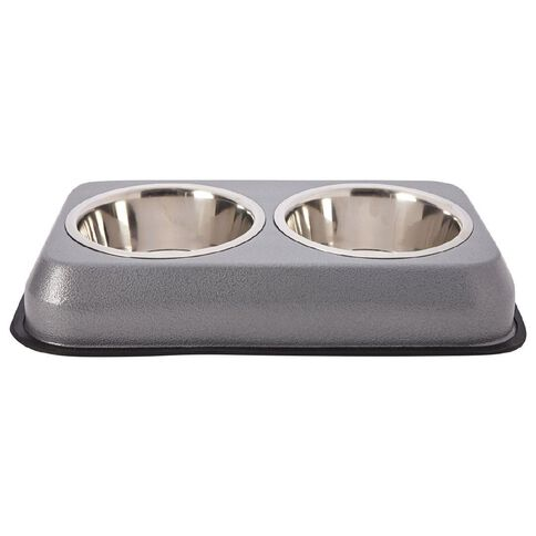Pet Team Double Diner Bowl Large