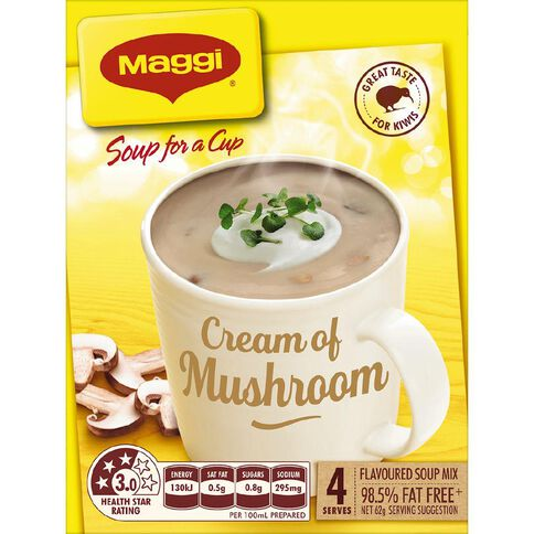 Maggi Soup for a Cup Creamy Mushroom 62g