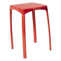 Solano Stacking Stool Red