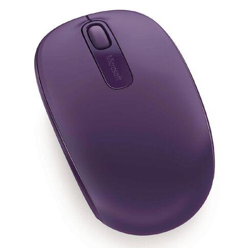 Microsoft Wireless Mobile Mouse 1850 Purple