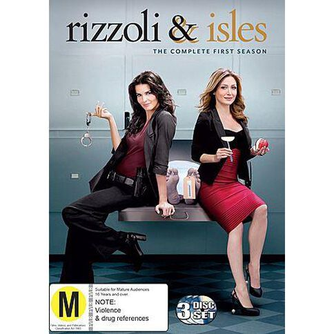 Rizzoli & Isles - Season 1 3 Disc Set