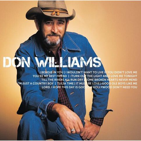 Icon CD by Don Williams 1Disc