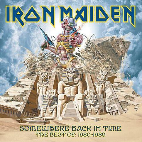 Somewhere Back In Time CD by Iron Maiden 1Disc