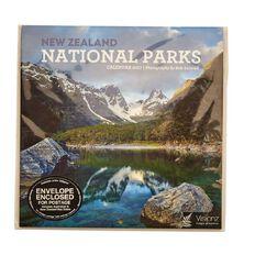 Calendar 2017 NZ National Parks Compact 180mm x 180mm