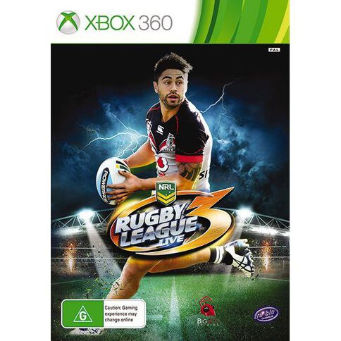 Xbox360 Rugby League Live 3