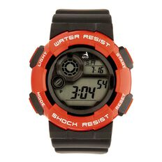 Active Intent Digital Watch Red