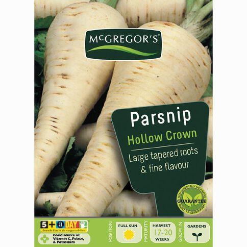 McGregor's Hollow Crown Parsnip Vegetable Seeds