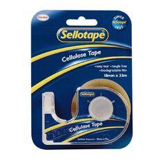 Sellotape Tape Dispenser 18mm x 33m Single