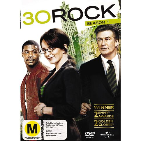30 Rock Season 1 DVD 3Disc