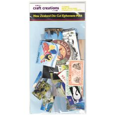 Craft Creations Iconic New Zealand Ephemera Pack Die Cut Shapes