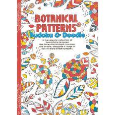 Botanical Patterns Sudoku & Doodle