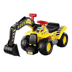 Fisher-Price Big Action Dig 'n Ride with Electronic Sounds