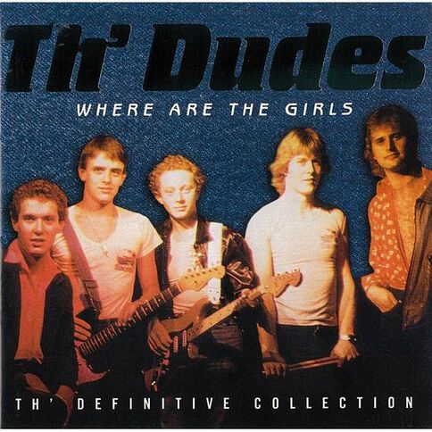 Where Are The Girls? CD by Th'Dudes 1Disc