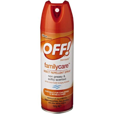 Off Skintastic Repellent Aerosol 150g
