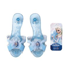 Disney Frozen Dress Up Elsa Click Clack Shoes