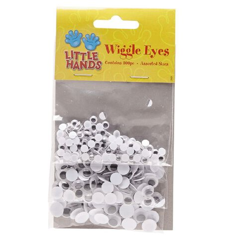 Little Hands Wiggle Eyes 3 Sizes 300 Pack