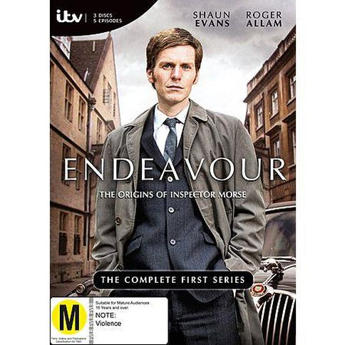 Endeavour DVD 3Disc